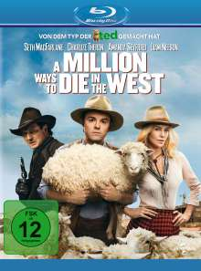 A Million Ways to die in the West (Blu-ray), Blu-ray Disc