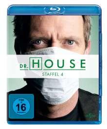 Dr. House Season 4 (Blu-ray), 4 Blu-ray Discs