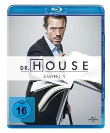 Dr. House Season 5 (Blu-ray), 5 Blu-ray Discs