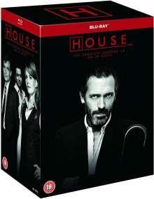 House: The Complete Seasons 1-8 (Blu-ray) (UK Import mit deutscher Tonspur), 39 Blu-ray Discs