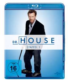 Dr. House Season 1 (Blu-ray), 5 Blu-ray Discs