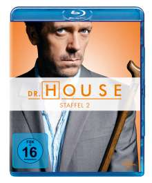 Dr. House Season 2 (Blu-ray), 5 Blu-ray Discs