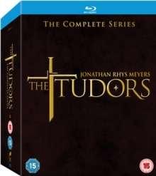 The Tudors Season 1-4 (Blu-ray) (UK Import), 12 Blu-ray Discs