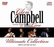 Glen Campbell: Through The Years (Limited Edition Fanpack: CD + DVD), 1 CD und 1 DVD