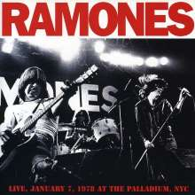 Ramones: Live At The Palladium 1978, CD