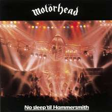 Motörhead: No Sleep 'Til Hammersmith, CD