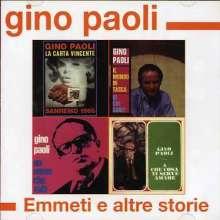 Gino Paoli: Emmeti E Altre Storie, CD
