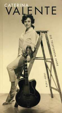 Caterina Valente: Die Telefunken Jahre 1959 - 1974, 4 CDs