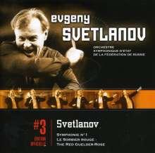 Yevgeni Svetlanov (1928-2002): Symphonie Nr.1, CD