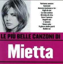 Mietta: Le Piu' Belle Canzoni, CD