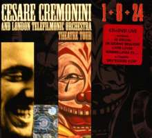 Cesare Cremonini: 1+8+24 (CD + DVD Live), 2 CDs