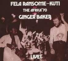 Fela Kuti: Fela With Ginger Baker Live! (Remastered), CD