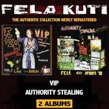 Fela Kuti: VIP/Authority Stealing (Remastered), CD