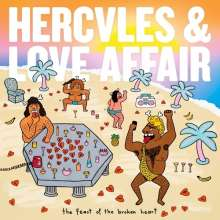 Hercules & Love Affair: The Feast Of The Broken Heart (2 LP + CD), 2 LPs und 1 CD