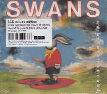 Swans: White Light From The Mouth Of Infinity / Love Of Life (Deluxe Edition), 3 CDs
