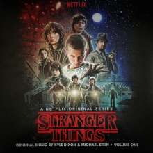 Kyle Dixon & Michael Stein: Filmmusik: Stranger Things Volume One (Red Marbled & Blue Marbles Vinyl), 2 LPs