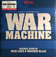 Nick Cave & Warren Ellis: Filmmusik: War Machine (A Netflix Original Film Soundtrack) (Limited-Edition) (Red Vinyl) (45 RPM), 2 LPs