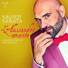 Xavier Sabata - L'Alessandro amante, CD