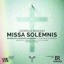 Leopold Mozart (1719-1787): Missa solemnis C-Dur, CD