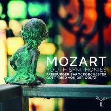 Wolfgang Amadeus Mozart (1756-1791): Symphonien Nr.1,4,5, CD