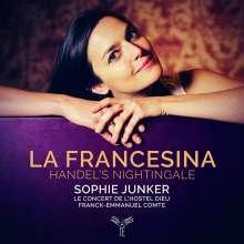 """Georg Friedrich Händel (1685-1759): Arien - """"La Francesina"""" (Handel's Nightingale), CD"""