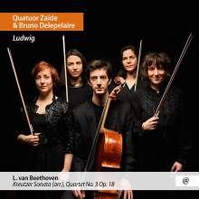 """Ludwig van Beethoven (1770-1827): Violinsonate Nr.9 """"Kreutzer"""" für Streichquintett, CD"""