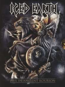 Iced Earth: Live In Ancient Kourion (Limited Deluxe Edition) (Blu-ray + DVD + 2 CD), Blu-ray Disc