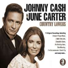 Johnny Cash & June Carter Cash: Country Lovers, 3 CDs