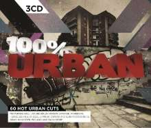 Various Artists: 100% Urban, 3 CDs