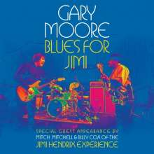 Gary Moore: Blues For Jimi: Live 2007 (CD + DVD), 2 DVDs