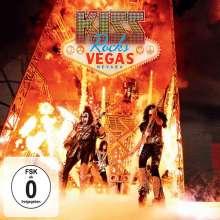 Kiss: Kiss Rocks Vegas (Limited Edition), 2 DVDs