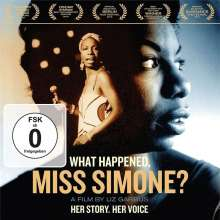 Nina Simone (1933-2003): What Happened, Miss Simone?, 1 DVD und 1 CD