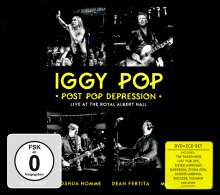 Iggy Pop: Post Pop Depression: Live At The Royal Albert Hall, 3 DVDs