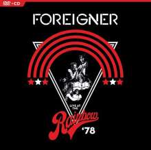 Foreigner: Live At The Rainbow '78, 1 DVD und 1 CD