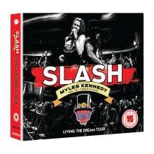 Slash: Living The Dream Tour, 2 CDs und 1 DVD