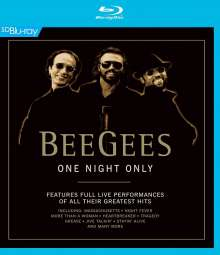 Bee Gees: One Night Only: Live In Las Vegas 1997, Blu-ray Disc