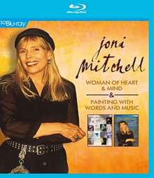 Joni Mitchell: Woman Of Heart & Mind / Painting With Words And Music, Blu-ray Disc
