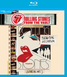 The Rolling Stones: From The Vault: Hampton Coliseum (Live In 1981), Blu-ray Disc