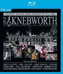 Live At Knebworth 1990, Blu-ray Disc