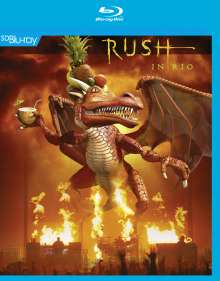 Rush: In Rio 23.11.2002, Blu-ray Disc