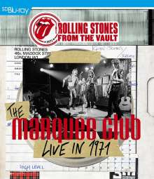 The Rolling Stones: From The Vault - The Marquee Club Live In 1971, Blu-ray Disc