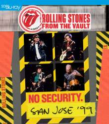 The Rolling Stones: From The Vault: No Security. San Jose '99, Blu-ray Disc