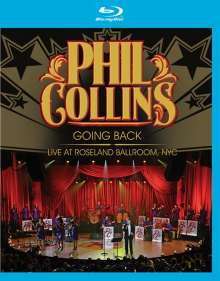 Phil Collins: Going Back: Live At Roseland Ballroom, NYC 2010, Blu-ray Disc