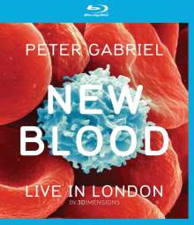 Peter Gabriel: New Blood: Live In London, Blu-ray Disc