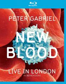 Peter Gabriel: New Blood - Live In London (3D Blu-ray + 2D Blu-ray + DVD), 3 Blu-ray Discs