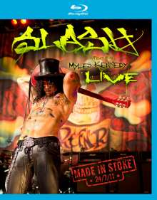 Slash: Made In Stoke 24/07/11, Blu-ray Disc
