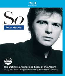 Peter Gabriel: So - The Definitive Authorised Story Of The Album, Blu-ray Disc