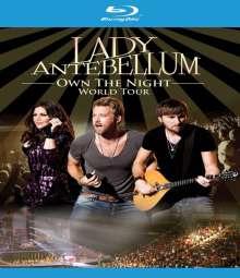 Lady Antebellum: Own The Night World Tour 2012, Blu-ray Disc