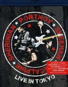 Portnoy, Sheehan, MacAlpine & Sherinian: Live In Tokyo, Blu-ray Disc