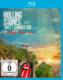The Rolling Stones: Sweet Summer Sun: Hyde Park Live 2013, Blu-ray Disc